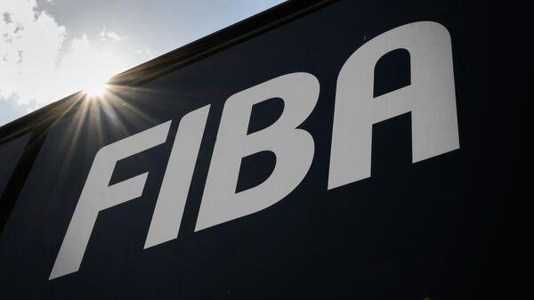 Логотип Международной федерации баскетбола (FIBA)