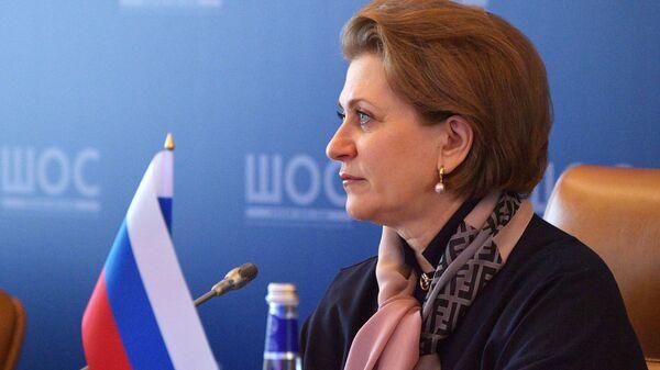 Анна Попова принимает участие в заседании глав служб государств - членов ШОС, отвечающих за обеспечение санитарно-эпидемиологического благополучия