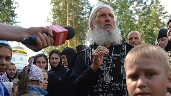 Схиигумен Сергий в Среднеуральском женском монастыре в Свердловской области