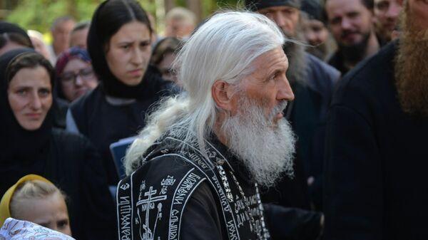 Схимонах Сергий в Среднеуральском женском монастыре в Свердловской области