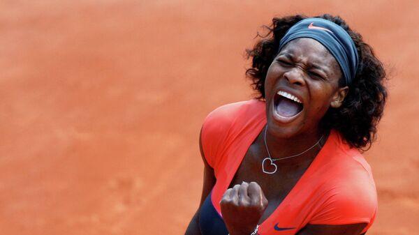 Теннисистка Серена Уильямс (США)