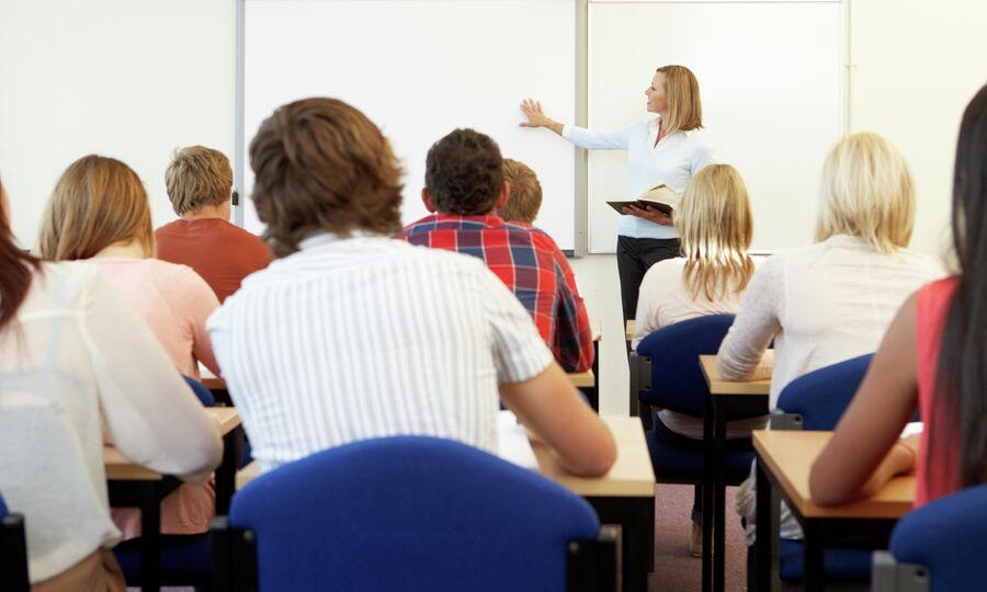 Студенты в аудитории