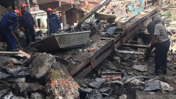 Обрушение в Тейково в Ивановской области
