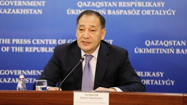 Вице-премьер Казахстана Тугжанов вылечился от COVID-19