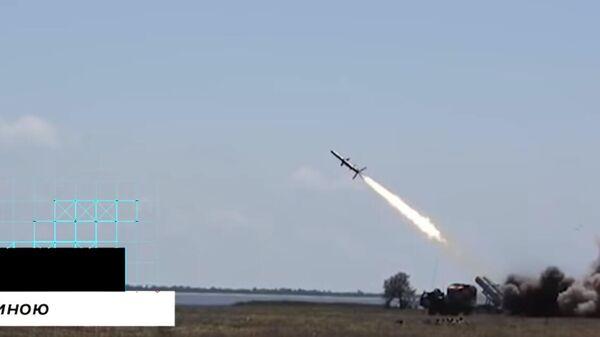 Испытания РК-360 МЦ ''Нептун'' со штатной боевой частью
