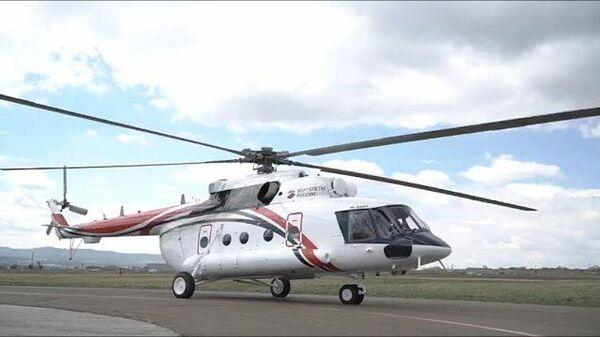 В России представили гражданскую версию арктического вертолета Ми-8