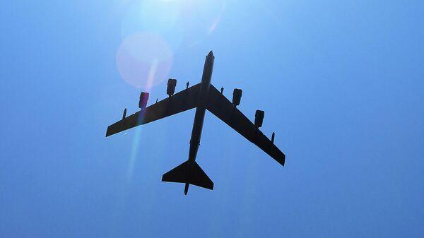 Стратегический американский бомбардировщик Boeing B-52 Stratofortress