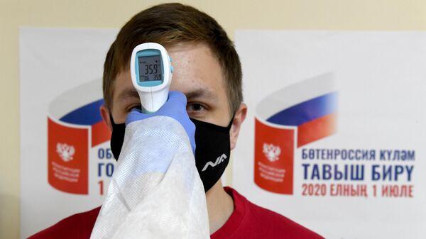 Подготовка избирательных участков к голосованию по внесению изменений в Конституцию РФ