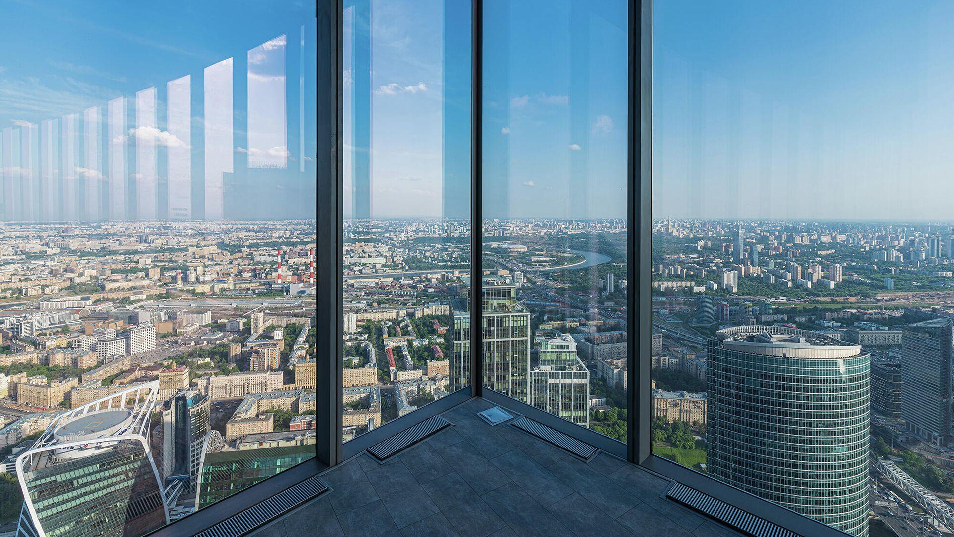 90-й этаж башни Восток делового комплекса Федерация - РИА Новости, 1920, 19.06.2020