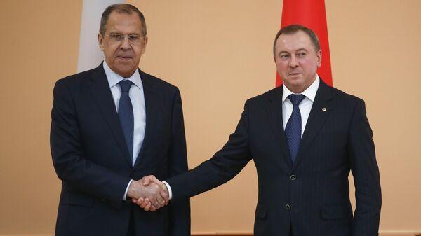Лавров и Макей обсудили работу неаккредитованных СМИ в Белоруссии