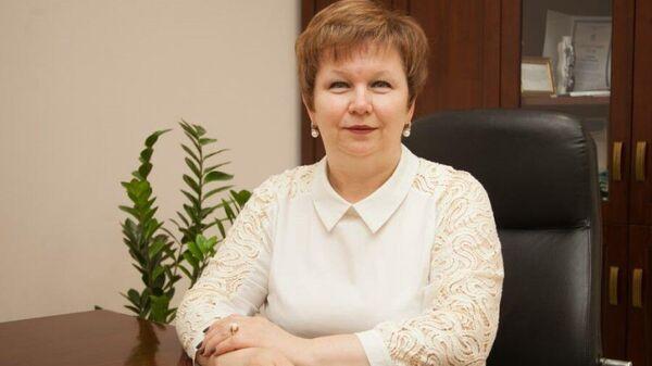Ректор Тюменского индустриального университета Вероника Ефремова
