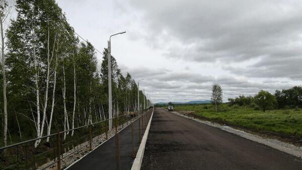 Работы по обеспечению инфраструктуры  дальневосточного гектара В Хабаровском крае
