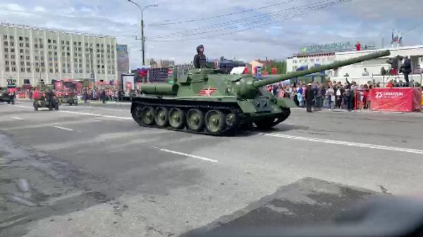 Парад Победы 24 июня 2020 в Мурманске