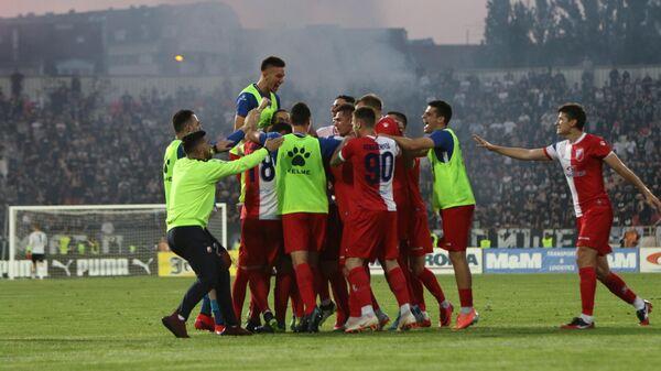 Футболисты Войводины