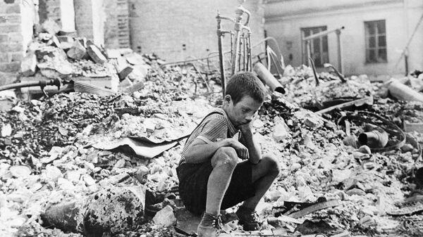 Маленькие герои большой войны. Саша Евсеев