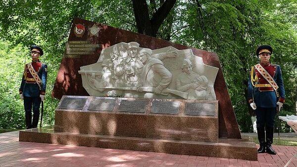 Открытие мемориала бойцам 311-й стрелковой дивизии в Кировской области