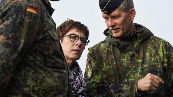 Министр обороны Германии Аннегрет Крамп-Карренбауэр