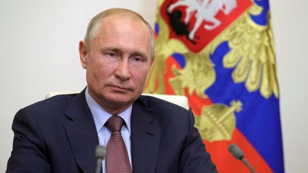 Путин назвал вызванный коронавирусом кризис одним из самых тяжелых