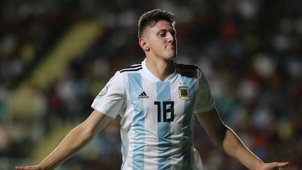 Футболист сборной Аргентины Адольфо Гайч