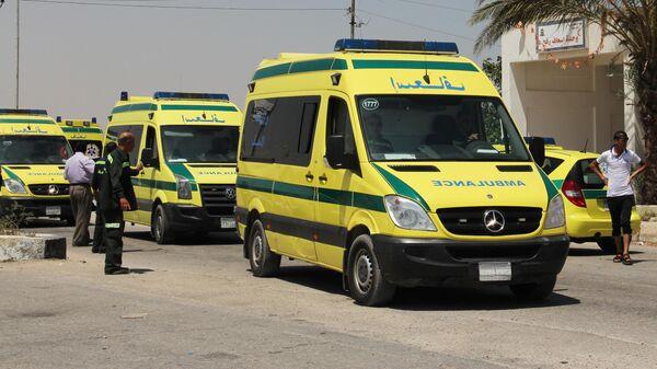 Автомобили скорой помощи в Египте