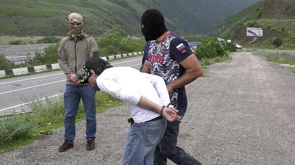 Задержание подозреваемого в подготовке теракта во Владикавказе