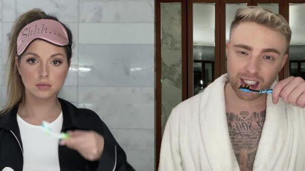 Скриншот видеоклипа Егора Крида и Нюши Mr. & Mrs. Smith