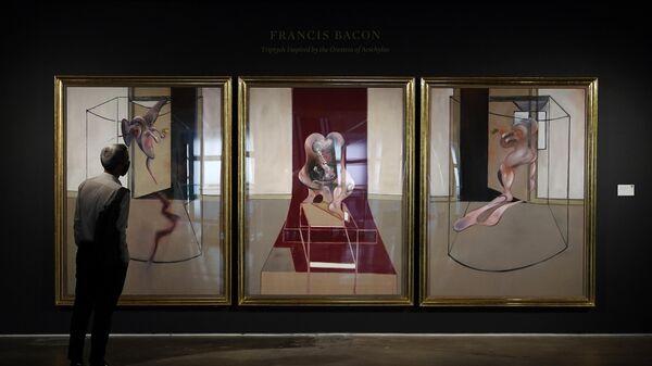 Триптих авторства Фрэнсиса Бэкона на аукционе Sotheby's в Нью-Йорке