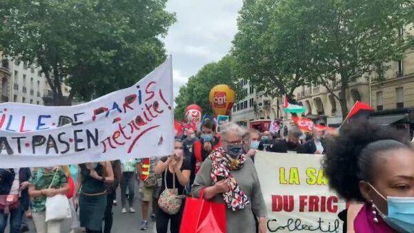 В Париже протестуют врачи