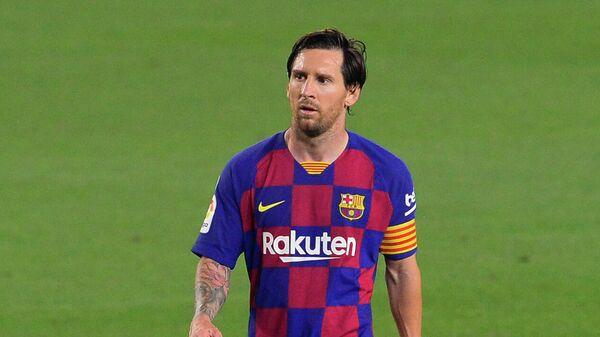 Футболист испанской Барселоны и сборной Аргентины Лионель Месси
