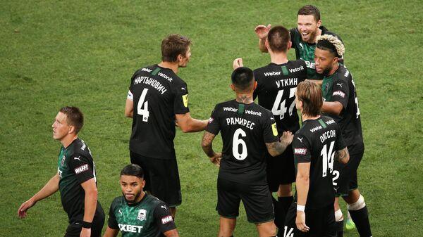 Russia Soccer Premier-League Krasnodar - Zenit