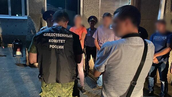 Задержание женщины, подозреваемой в убийстве девятилетнего жителя станицы Баговской Мостовского района Краснодарского края