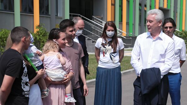 С. Собянин посетил детский сад в Москве