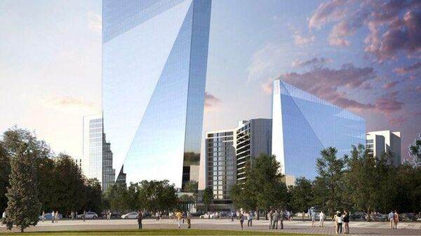 Новая башня ЦМТ