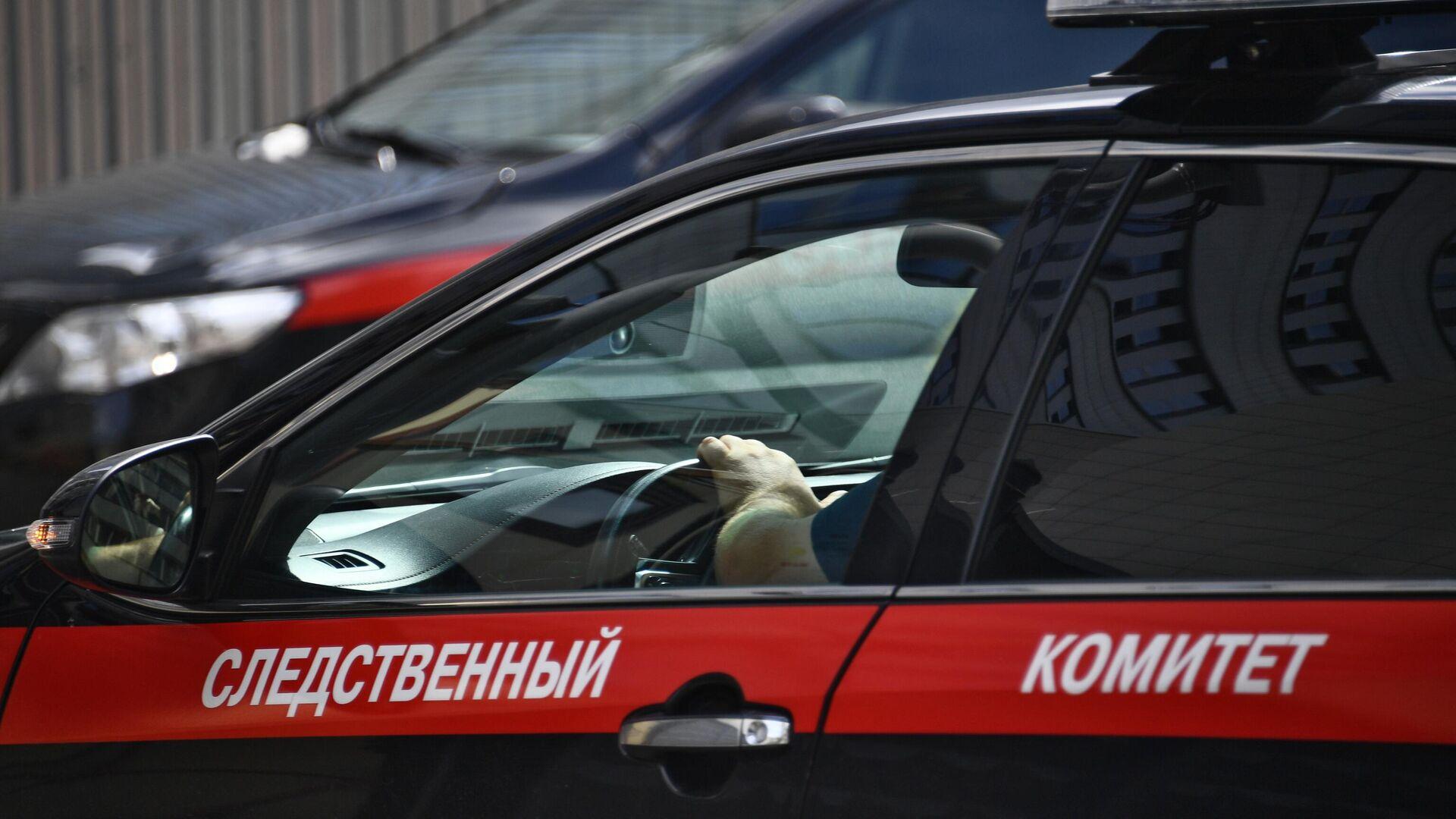 Автомобиль Следственного комитета РФ - РИА Новости, 1920, 04.12.2020