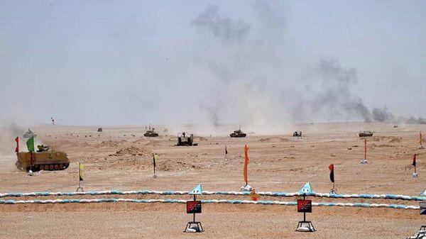 Военные учения в западном военном округе Египта