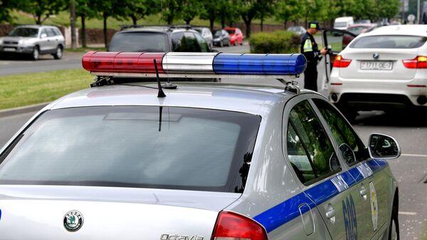 Автомобиль дорожно-патрульной службы Белоруссии