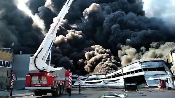 Пожар в Самаре