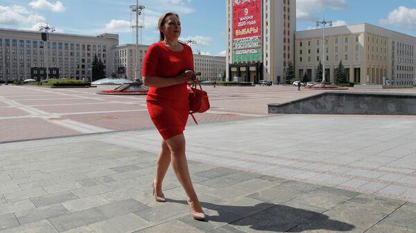 Кандидат в президенты Белорусии Анна Канопацкая