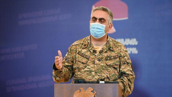 Представитель министерства обороны Армении Арцрун Ованнисян