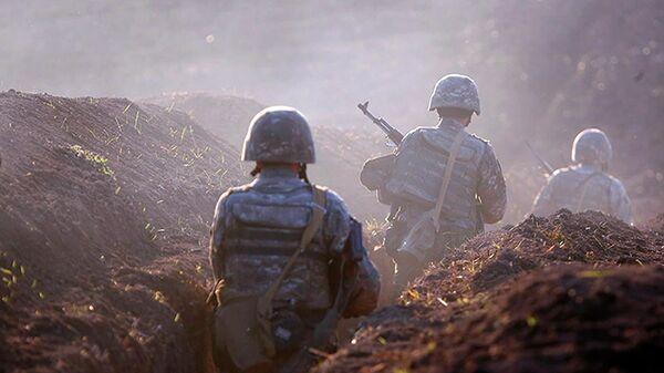 Армянские военные в Тавушской области