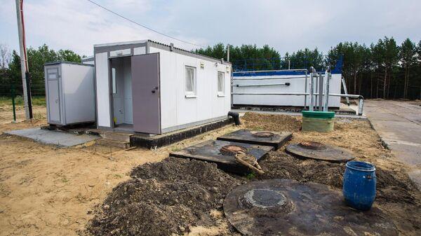Канализационные очистные сооружения в Сургутском районе