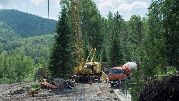 Строительство дороги к горнолыжному комплексу на территории курорта Белокуриха-2 в Алтайском крае по федеральной программе Туризм