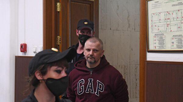 Николай Мистрюков, проходящий по делу губернатора Сергея Фургала, в Басманном суде Москвы
