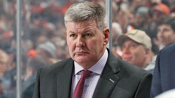 Главный тренер хоккейного клуба Автомобилист Билл Питерс