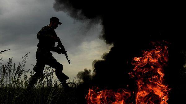 Военнослужащий мотострелкового полка Таманской дивизии
