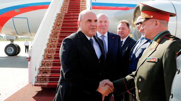 Мишустин прибыл в Минск для участия в Евразийском межправсовете