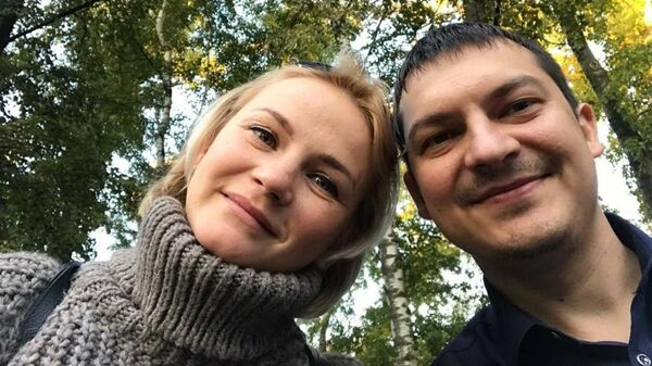 Предпринимательница Айгуль Мухамедова из Казани с мужем Динаром
