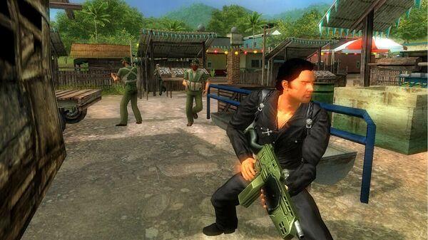 Стоп-кадр из игры Just cause