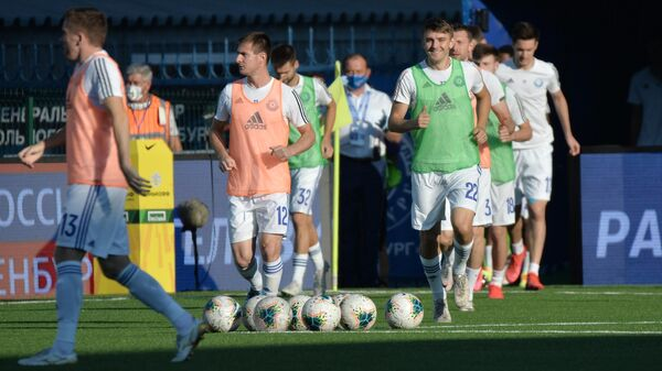 Футболисты Оренбурга