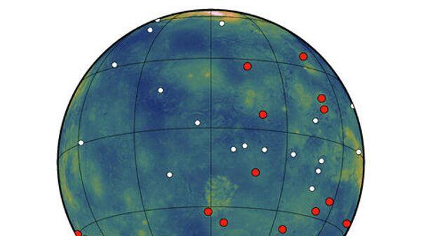 Ученые обнаружили на Венере активные вулканы